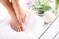 Soaking Your Feet May Help to Alleviate Discomfort